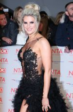 SARAH JAYNE DUNN at National Television Awards in London 01/23/2018