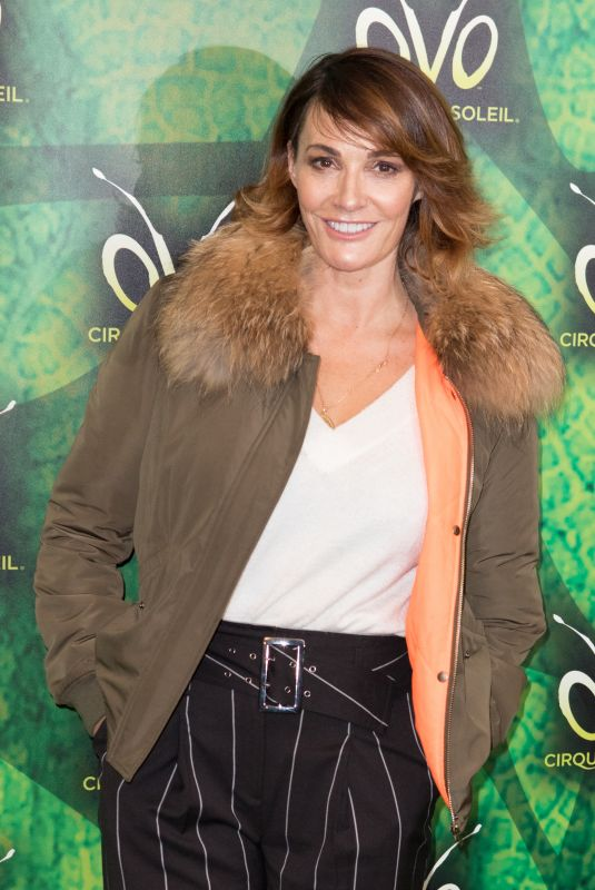 SARAH PARISH at Cirque Du Soleil Ovo Premiere in London 01/10/2018