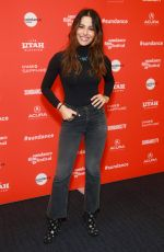 SARAH SHAHI at Indie Episodic Program 1 at Sundance Film Festival 01/23/2018