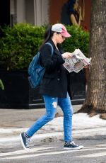 SARAH SILVERMAN Out and About in New York 01/11/2018
