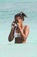 SASHA OBAMA in Bikini at a Beach in Cancun 01/14/2018