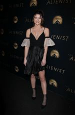 SAVANNAH OUTEN at The Alienist Premiere in Los Angeles 01/11/2018