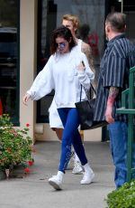 SELENA GOMEZ and Justin Bieber Leaves Pilates Studio in West Hollywood 01/03/2018