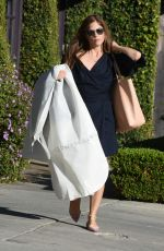 SELMA BLAIR Out Shopping in Beverly Hills 01/13/2018