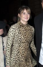 SHAILENE WOODLEY at Valentino Show at Spring/Summer 2018 Haute Couture Fashion Week in Paris 01/24/2018