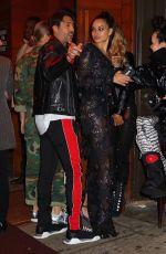 SHANINA SKAIK and JASMINE SANDERS at 1Oak Grammy Party in New York 01/28/2018