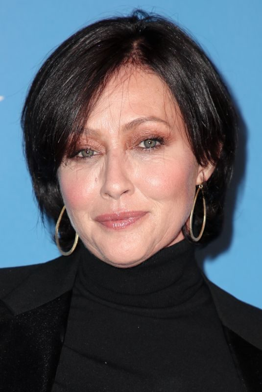 SHANNEN DOHERTY at Paramount Network Launch Party at Sunset Tower in Los Angeles 01/18/2018