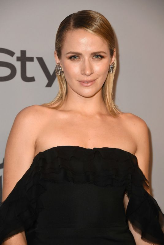 SHANTEL VANSANTEN at Instyle and Warner Bros Golden Globes After-party in Los Angeles 01/07/2018