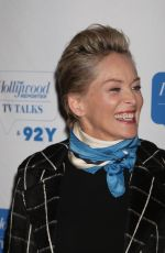SHARON STONE at 92 Ttreet Y Hosts Screening of Mosaic in New York 01/16/2018