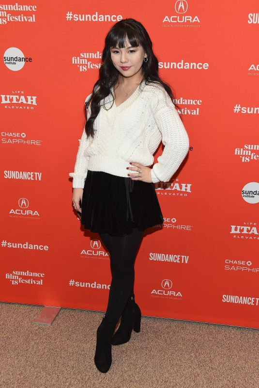 SHAY LEE ABESON at The Tale Premiere at 2018 Sundance Film Festival in Park City 01/20/2018