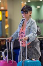 SHERIDAN SMITH Arrives at Heathrow Airport in London 03/01/2018