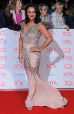 SHIRLEY BALLAS at National Television Awards in London 01/23/2018