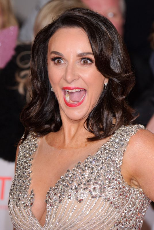 SHIRLEY BALLAS at National Television Awards in London 01/23/2018