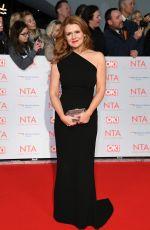 SIAN GIBSON at National Television Awards in London 01/23/2018