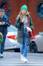 SIENNA MILLER Makeup Free Out and About in New York 01/13/2018