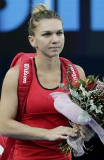 SIMONA HALEP at Australian Open Tennis Tournament Final in Melbourne 01/27/2018