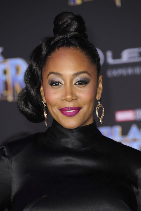 SIMONE MISSICK at Black Panther Premiere in Hollywood 01/29/2018
