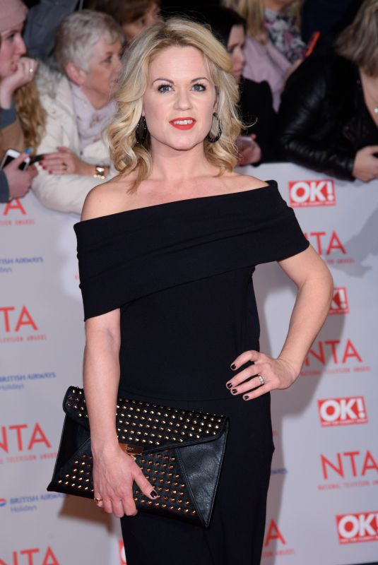 SINEAD KEENAN at National Television Awards in London 01/23/2018