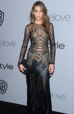 SISTINE ROSE STALLONE at Instyle and Warner Bros Golden Globes After-party in Los Angeles 01/07/2018