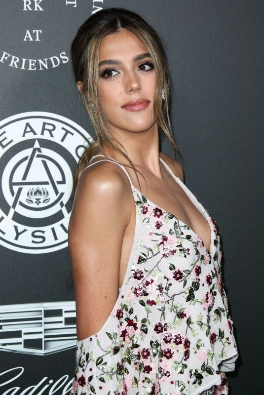 SISTINE ROSE STALLONE at The Art of Elysium Heaven in Los Angeles 01/06/2018