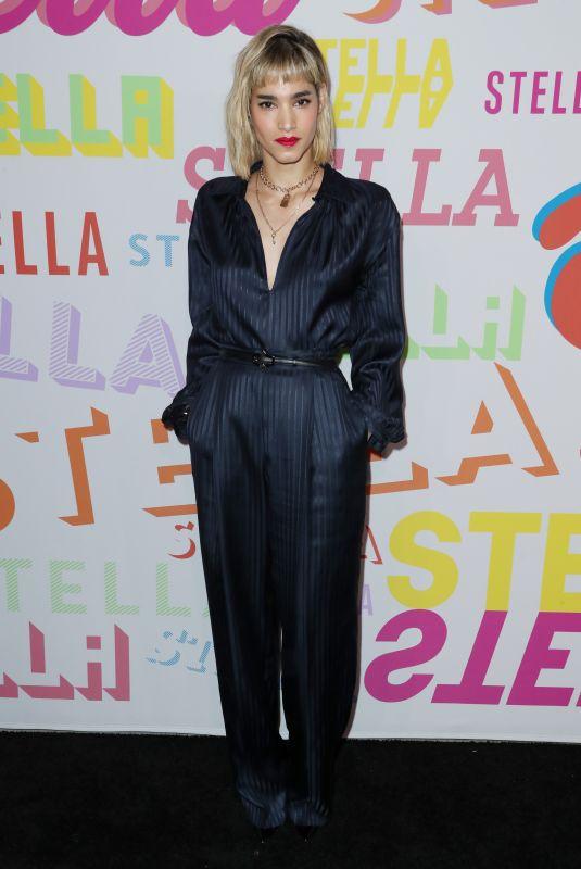 SOFIA BOUTELLA at Stella McCartney Show in Hollywood 01/16/2018