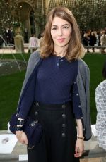 SOFIA COPPOLA at Chanel Show at Spring/Summer 2018 Haute Couture Fashion Week in Paris 01/23/2018