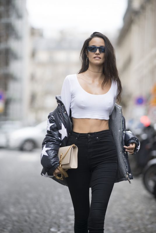 SOFIA RESING Out and About in Paris 01/24/2018