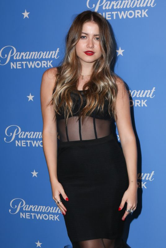 SOFIA REYES at Paramount Network Launch Party at Sunset Tower in Los Angeles 01/18/2018