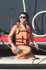 SOFIA RICHIE in Bikini at a Yacht in Mexico 01/15/2018