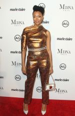 SONEQUA MARTIN GREEN at Marie Claire Image Makers Awards in Los Angeles 01/11/2018