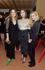 SOPHIA BUSH at Conde Nast and The Women March's Cocktail Party in West Hollywood 01/24/2018