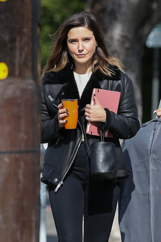 SOPHIA BUSH Out and About in West Hollywood 01/24/2018