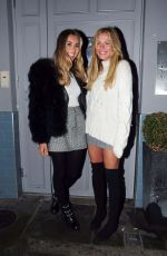 SOPHIE HABBOO and FRANKIE GAFF at Beaufort House in London 01/09/2018
