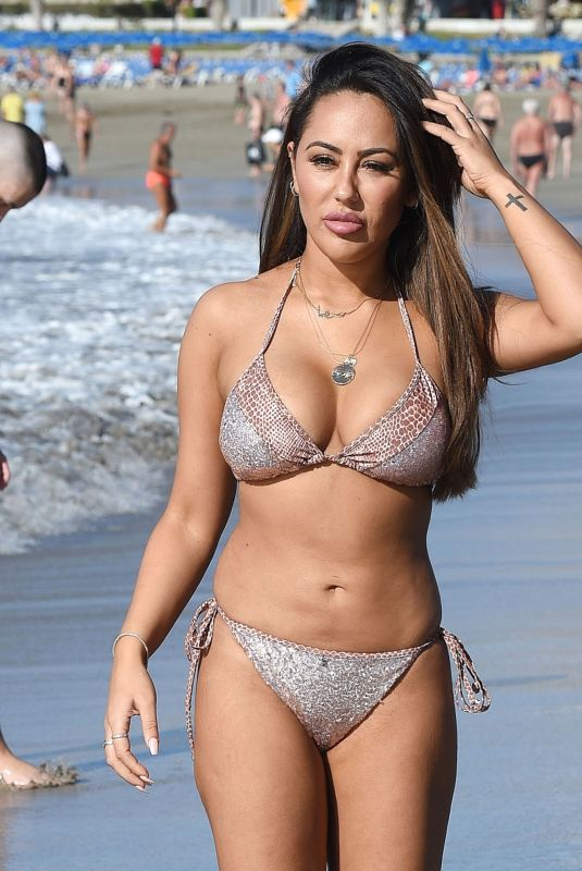 SOPHIE KASAEI in Bikini at a Beach in Turkey 01/14/2018