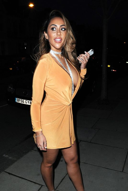 SOPHIE KASAEI Night Out in Newcastle 01/27/2018