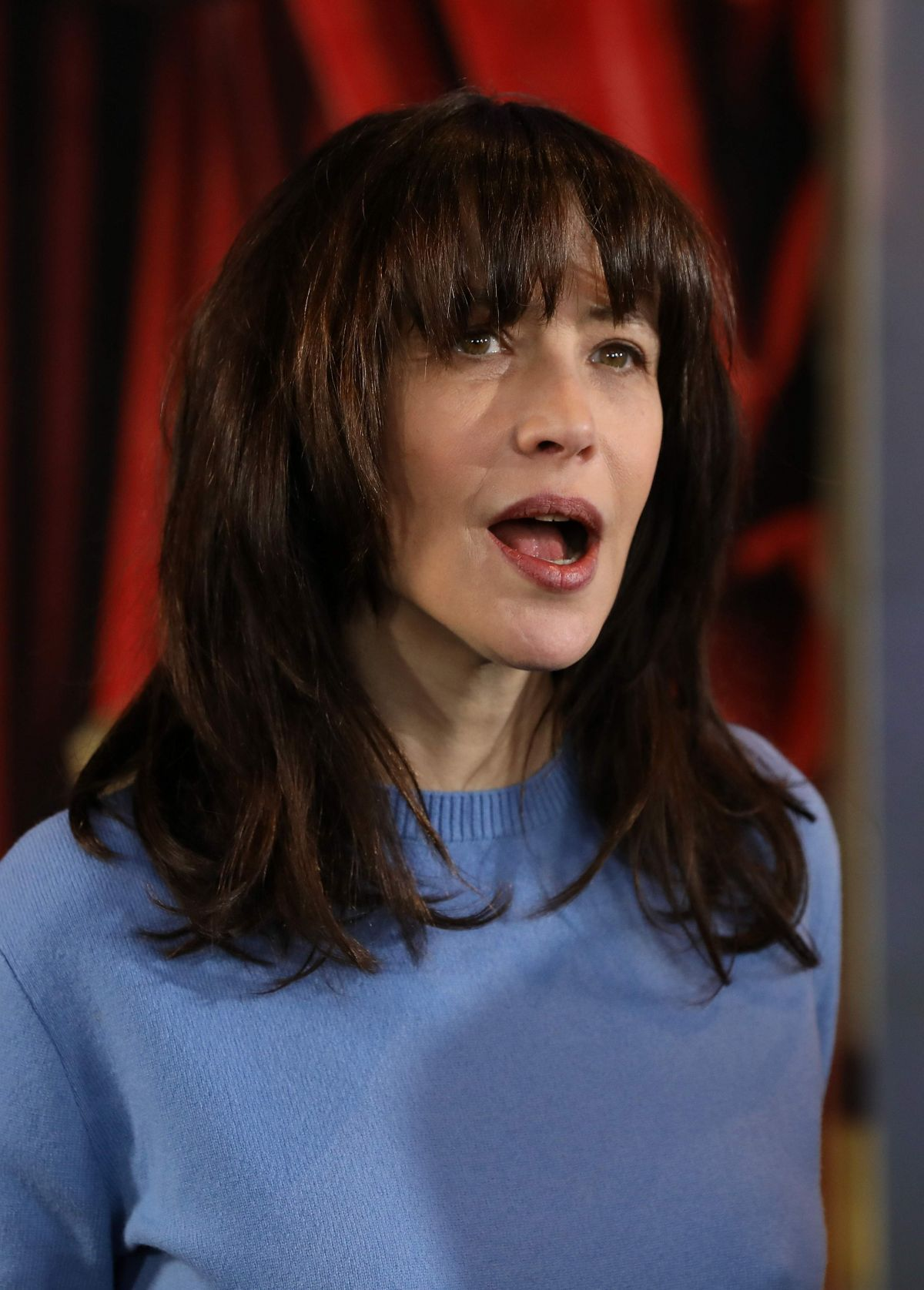 21 International Fashion Magazine You Ll Love: SOPHIE MARCEAU Presents Her New Movie At 21th