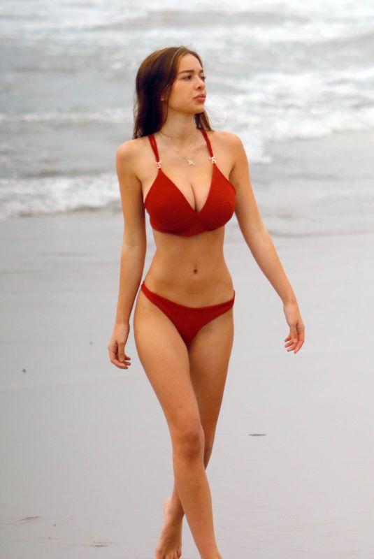SOPHIE MUDD in Bikini at a Beach in Malibu 01/14/2018