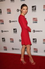 STEFANIE SCOTT at Small Town Crime Special Screening in Los Angeles 01/09/2018