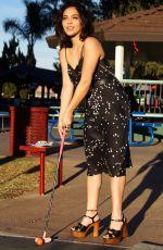 STELLA HUDGENS for Mini Golf Chic Blog Photoshoot, January 2018