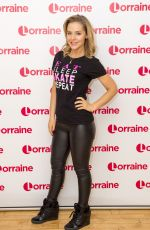 STEPHANIE WARING at Lorraine Show in London 01/22/2018