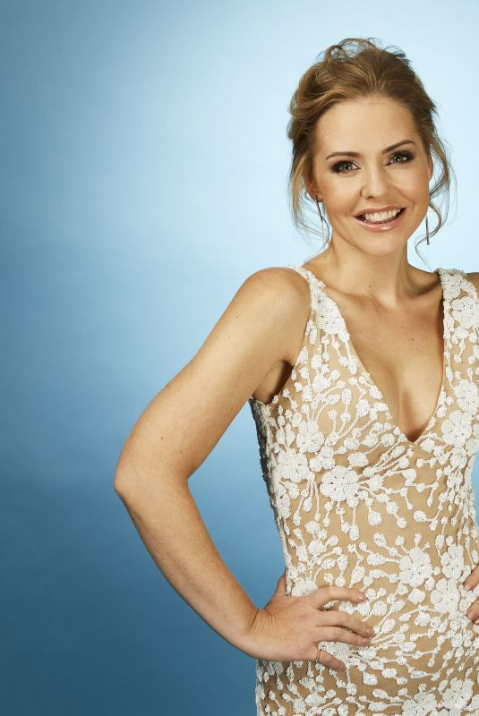 STEPHANIE WARING - Dancing on Ice TV Series Promos 2017