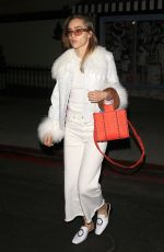 SUKI WATERHOUSE Out and About in Los Angeles 01/18/2018