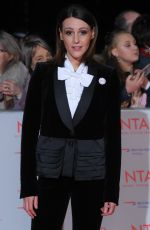 SURANNE JONES at National Television Awards in London 01/23/2018