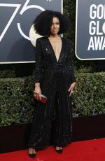 SUSAN KELECHI WATSON at 75th Annual Golden Globe Awards in Beverly Hills 01/07/2018