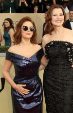 SUSAN SARANDON and GEENA DAVIS at Screen Actors Guild Awards 2018 in Los Angeles 01/21/2018