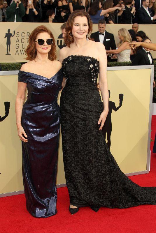 SUSAN SARANDON and GEENA DAVIS at Screen Actors Guild Awards 2018 in Los Angeles 01/21/2018