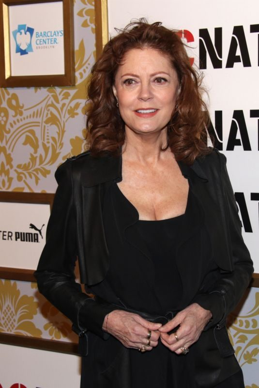 SUSAN SARANDON at Roc Nation's Brunch Black Carpet Event in New York 01/27/2018