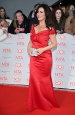 SUSANNA REID at National Television Awards in London 01/23/2018