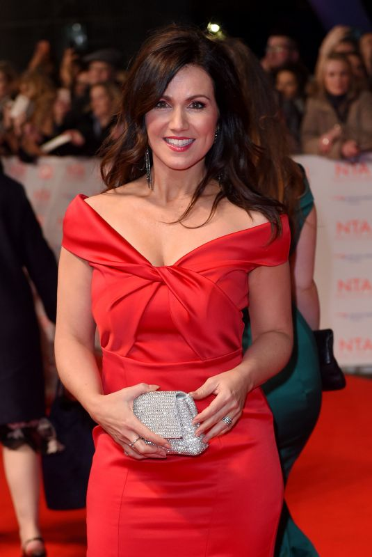 SUSANNA REID at National Television Awards in London 01/23/2018