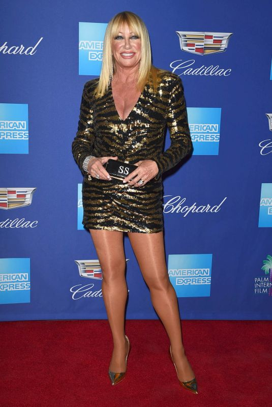 SUZANNE SOMERS at 29th Annual Palm Springs International Film Festival Awards Gala 01/02/2018